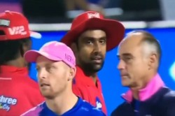 Ipl 2019 Jos Buttler Didn T Shake Hand With R Ashwin After Mankad Controversy Video