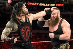 Wwe Has Announced The Match The Roman Reigns