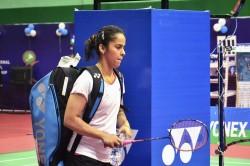 Saina Nehwal Have Skip Swiss Open Due Acute Stomach Pain