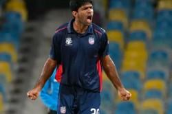 Indian Origin S Saurabh Netravalkar Captain Usa Historic T20 Series Uae