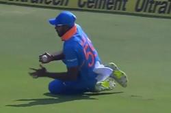 Outstanding Catch Vijay Shankar During 1st Odi Against Austr