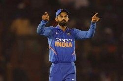 Indvsaus Virat Kohli Said No One Is Panic Dressing Room Anyone Can Win World Cup