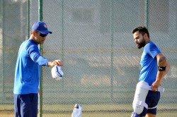 Indvsaus Virat Kohli Posted Adorable Selfie With His Pet Ahead Of Fifth Odi Delhi