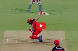 Ipl 2019 Ab De Villiers Hits Single Handed Six On Mohammad Shami Dangerous Full Toss
