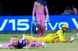 Ipl 2019 Ravindra Jadeja And Ben Stokes Fall To The Ground Action Packed Incident Video