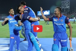 Ipl 2019 Rishab Pant Feel Special After Being Lifted By Sourav Ganguly Video