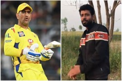 Bollywood Actor Vineet Kumar Sings Rap Song For Ms Dhoni Video Viral