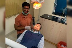 Vvs Laxman S Visit To Dentist School Friend Gets Hilarious Reactions From Fans