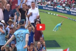 Icc World Cup 2019 Ben Stokes Took An Almost Impossible Catch Vs South Africa Video
