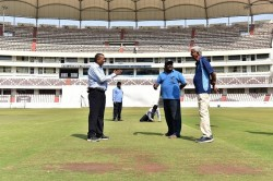 Curator Chandrasekhar Rao Told How Is The Pitch For Ipl Fina