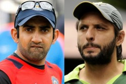 Gautam Gambhir Lashes Out At Shahid Afridi Over Scathing Remarks In Autobiography Says I Ve Attitude
