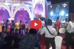 When The Ipl2019 Final Is Celebrated At The Wedding Stage Watch Video