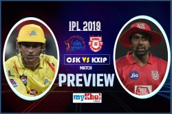 Ipl 2019 Csk Vs Kxip Preview Chennai Is Looking To Secure Top Spots