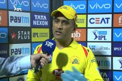 Ms Dhoni Statement After Lost Match From Kings Xi Punjab Ipl