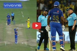 Ipl 2019 Kieron Pollard Has Been Fined For Showing Dissent At Umpire Decision