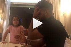 Ipl 2019 Ziva Dhoni Gives Hindi Lessons To Rishabh Pant Video Gone Viral