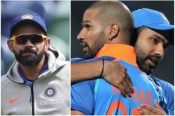 Icc World Cup 2019 Virat Kohli Talks About The Rohti And Shikhar Form Ahead Of 1st Match