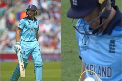 Icc World Cup 2019 Eoin Morgan Reveals Why Jos Buttler Checked Ball After Getting Out