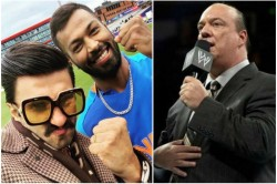 Brock Lesnar S Advocate Paul Heyman Sent Legal Notice To Ranveer Singh Hardik Pandya Post