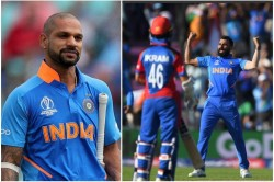 Indvsafg Shikhar Dhawan Tweets For Mohammed Shami S Hat Trick Has Gone Viral