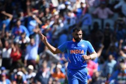 World Cup Mohammad Shami Sets The Best Odi Figure For Any Indian Bowler West Indies