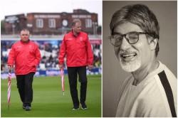 Amitabh Bachchan Takes A Dig On Raining In Icc World Cup