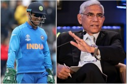 Dhoni S Gloves Controversy Vinod Rai Confirm That Bcci Will Follow The Icc Rules