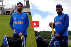Icc World Cup 2019 Dinesh Karthik Reveals All Cricket Tools In His Kit Bag Video