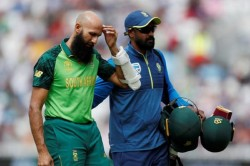 Icc World Cup 2019 Hashim Amla Is Not Recovered By The Blow Made By Jofra Archer