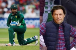 Sarfaraz Ahmed Opts To Bowl But Pakistan Pm Imran Khan Says To Bat First Against India