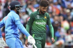 Mohammad Amir Wahab Riaz Was Warned Twice For Running On The Danger Area Of Pitch