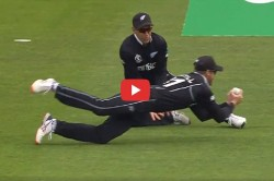 Martin Guptil Take A Outstanding Catch Icc World Cup