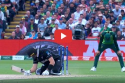 Martin Guptill Hit Wicket Out Icc World Cup 2019 New Zealand Vs South Africa