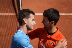 French Open 2019 Dominic Theim Defeats Novak Djokovic To Enter Finals