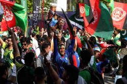 Cwc 2019 Pakvsafg Scuffle Breaks Out Between Afghanistan Pakistan Fans