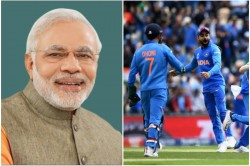 Cwc19 Pm Modi Gives Best Wishes To The Team India Ahead Of First Match
