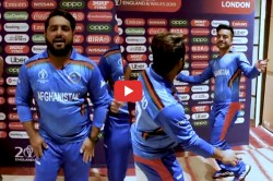 Rashid Khan Mohammad Shahzad Dance Video Icc World Cup