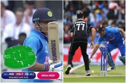 World Cup 2019 Ms Dhoni S Run Out Vs New Zealand Comes In Controversy
