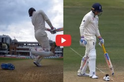 England Vs Ireland Test Jason Roy Loses His Shoe In Bizarre Manner During Batting Video