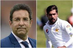Wasim Akram Is Surprised By The Mohammad Amir S Retirement From Test Cricket