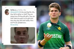 After Imam Ul Haq Now Screenshot Of Shaheen Shah Afridi S Private Chat Screenshot Leaked