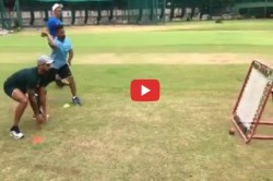 Shikhar Dhawan Working On Reflexes Ahead Of The West Indies Tour
