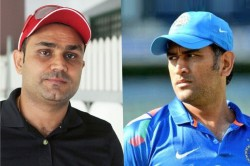 When Dhoni Out Sehwag On The Basis Of Age And Form Now He Is Standing Himself At Same Point