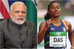 Hima Das Promises Pm Modi After Win 5 Gold Medal Just 19 Days