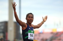 Hima Das Won Her Second International Gold Within A Week
