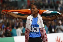 Incredible Performance By Hima Das Wins Fourth Gold In 15 Days