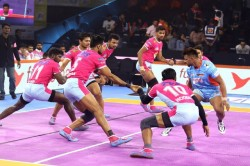 Pro Kabaddi 2019 Jaipur Pink Panthers Vs Bengal Warriors Match 13th Result