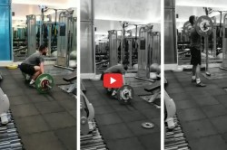 Indian Cricket Team Captain Kohli Doing Gym Before Team Selection Video Viral
