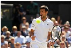 Wimbledon 2019 Novak Djokovic Beats Roberto Bautista In Semifinal Match