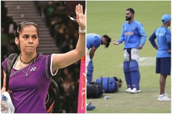 Saina Nehwal Leads Wishes For Team India Before Semifinal Match